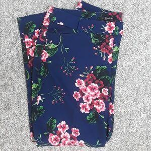 Eloquii Floral Pants sz 14
